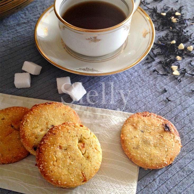 SLELLY: LUISOTTI - Biscotti di semola all'olio con nocciole e uva passa