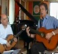 Paul McCartney plays Bach