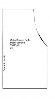 Boneca Frida porta rolo de papel 7