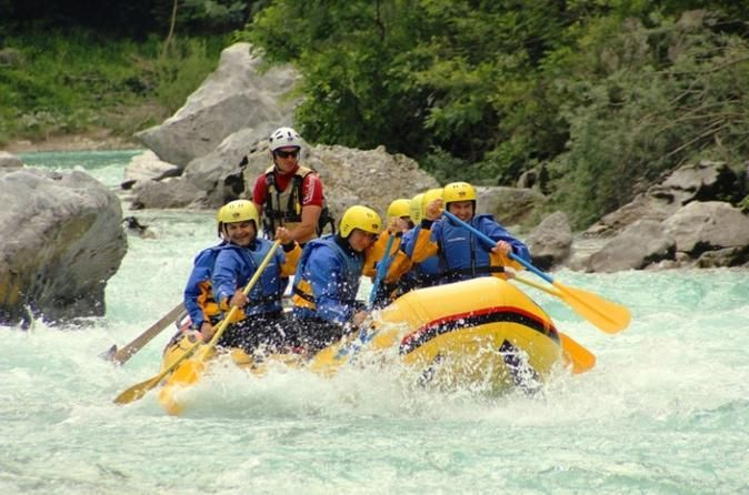 Sava River Rafting and Lake Bled Day Trip In this one day trip you get to experience the fun and adrenaline time on the wild waters of glacial Sava river, as well as a visit to the famous lake Bled with the island in the middle of the lake and an old castle on the cliff above the lake. The tour also includes a visit to the medieval town of Skofja Loka on the way back to Ljubljana.Experience a fantastic day full of adrenaline in the Alpine region of Slovenia. The famous glacial...