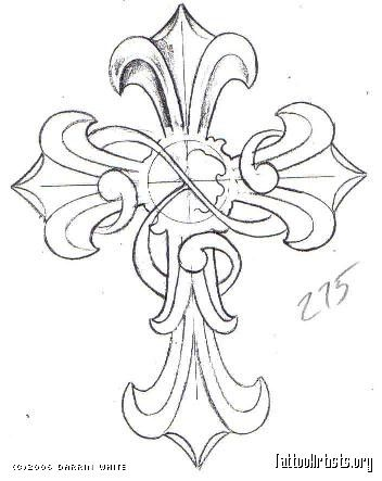 Cross tattoos, Crosses and Cross designs on Pinterest