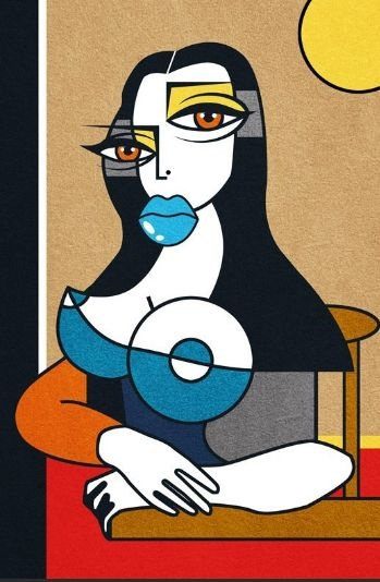 Murciano-- Mona Lisa Parodies #Joconde