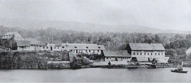 Curtiembre fundada por Germán Schulke en la isla teja 1851
