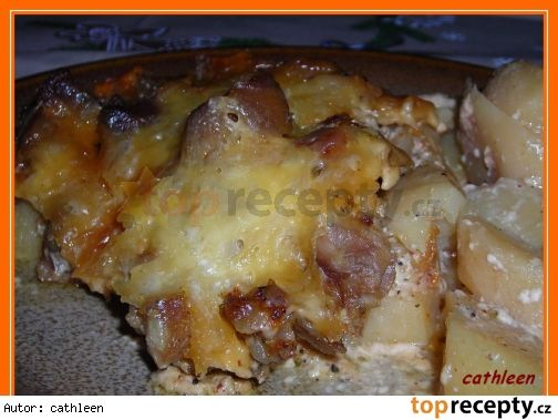 Kuře na šlehačce v PH