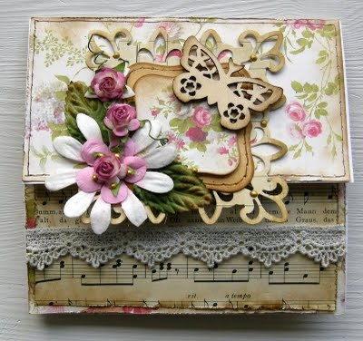 Beautiful card using pretty flowers