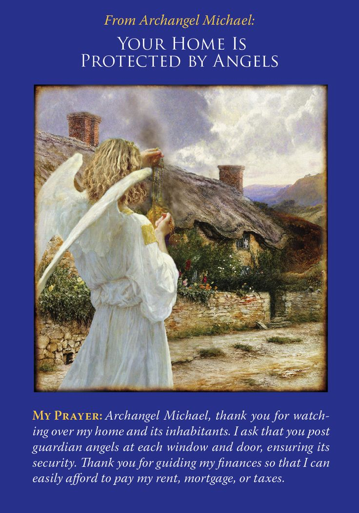 Oracle Card Your Home Is Protected By Angels | Doreen Virtue | official Angel Therapy Web site