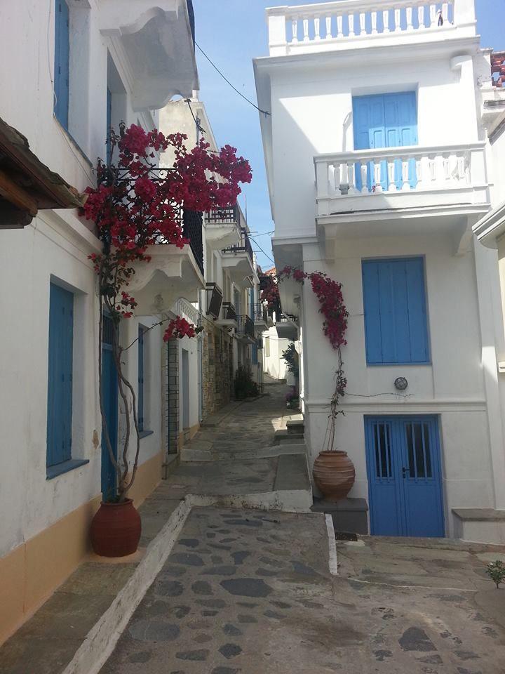 Chora, Skopelos