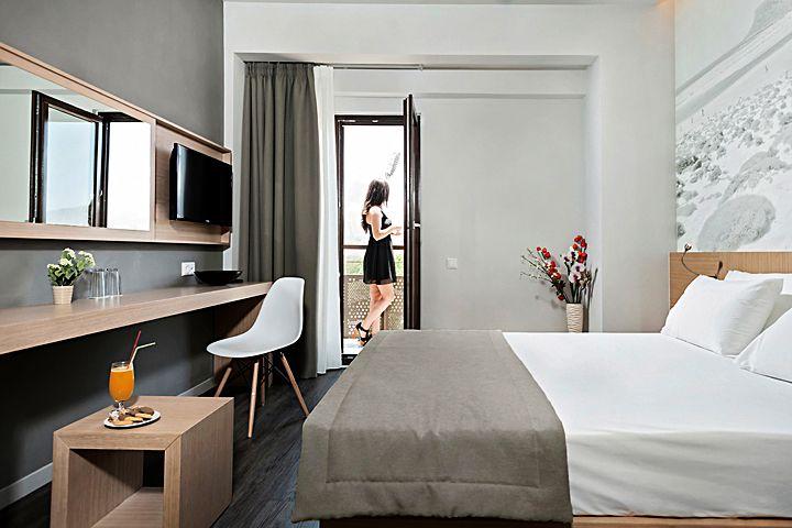 Дизайн интерьера отеля Kriti Hotel на острове Крит от RKITEKTS