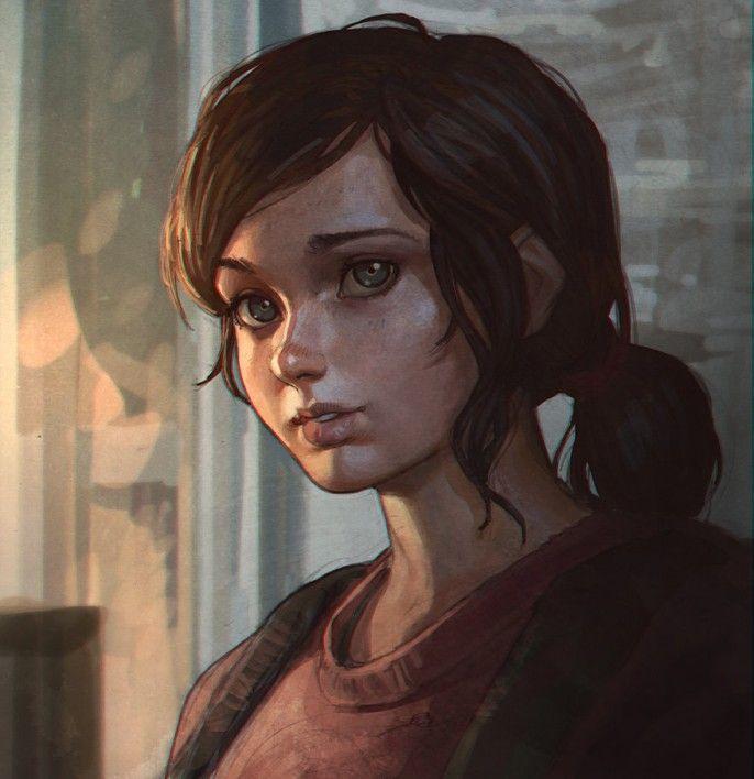 Ilya Kuvshinov - Heroins Portraits Ellie The Last of Us