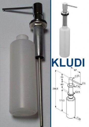 Дозатор для жидкого мыла встраиваемый Kludi 1216005-00