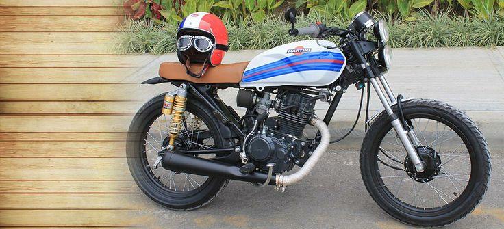 AKT NKD - Cafe Racer - AKT - Cafe Racer NKD