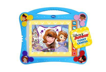 Disney Junior Tablet Case Incluye app de Disney Junior con las que se divertirán creando las mejores imágenes y desarrollarán toda su creatividad.