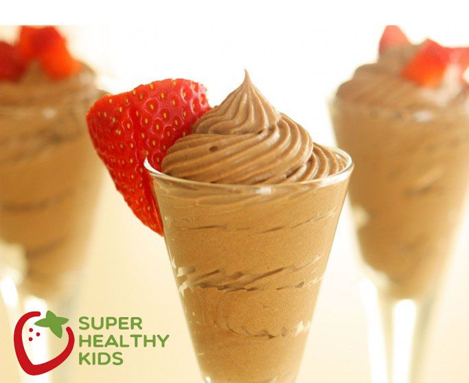 Need dessert? This thick and creamy chocolate, non-dairy mousse will hit the spot!