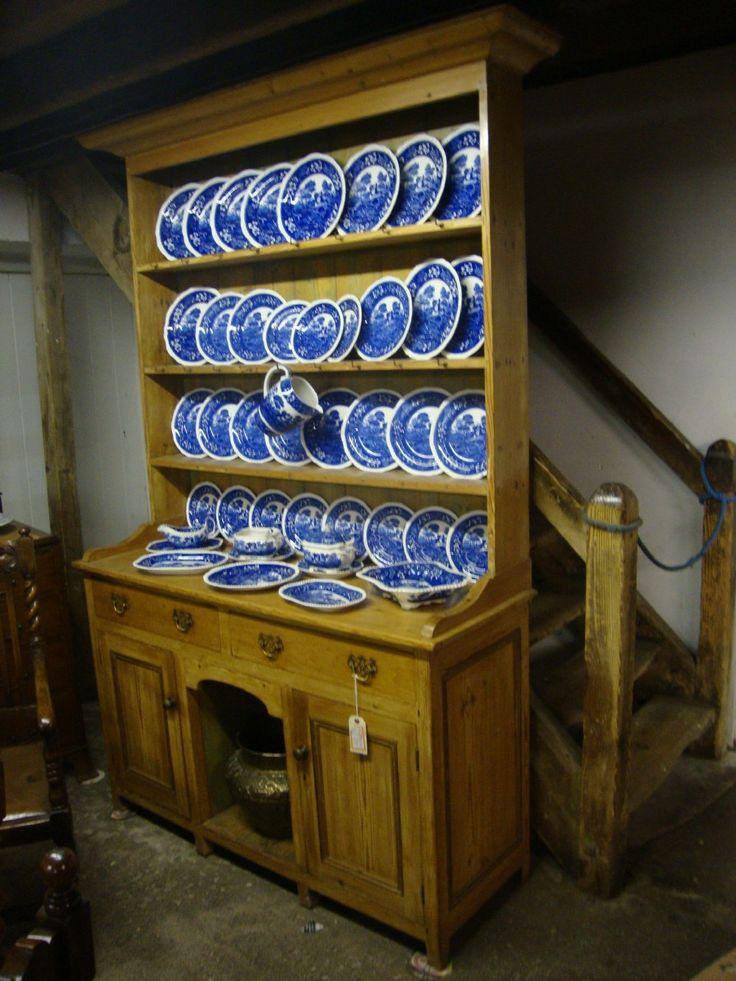 Pembrokeshire Stripped Pine Welsh Dresser
