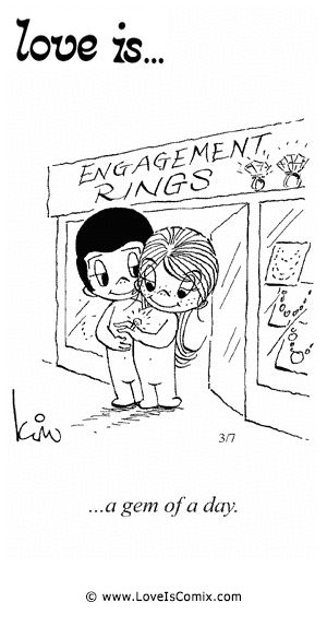 Love is... Comic Strip, Love Comic, Love Quotes, Love Pictures - Love is... Comics - Comic for Sat, Feb 09, 2013