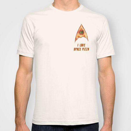 Star trek funny pizza love insignia