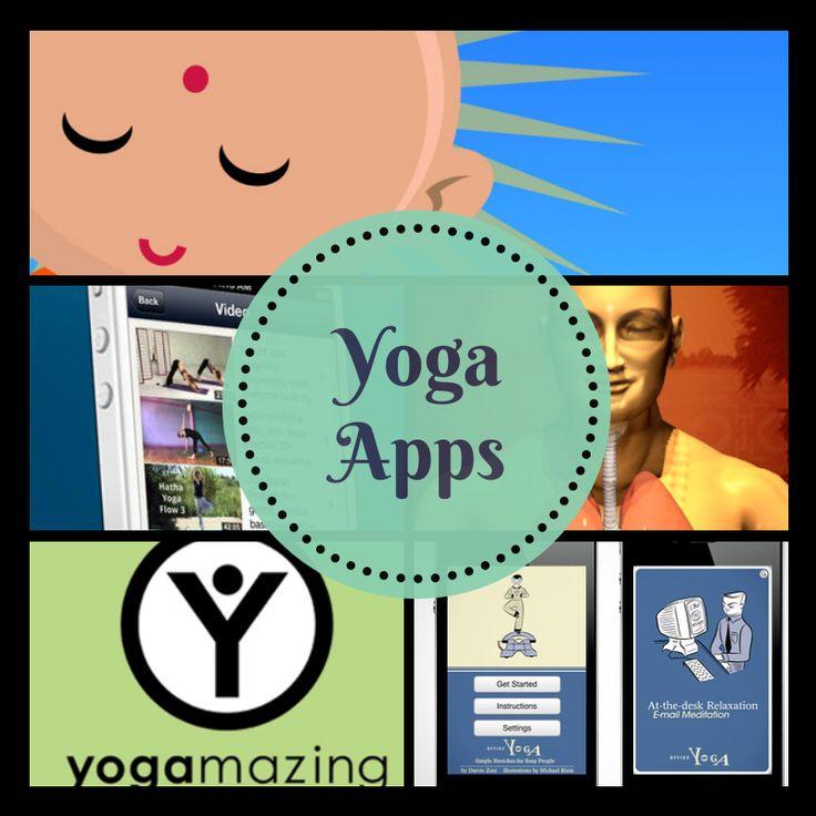 LAS 5 MEJORES APPS PARA PRACTICAR YOGA  #yoga #fitness #apps2014