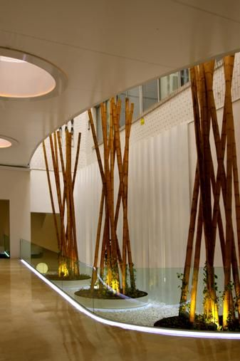 733 best images about bamboo on pinterest expo 2015 bamboo furniture and pavilion - Bambu de interior ...