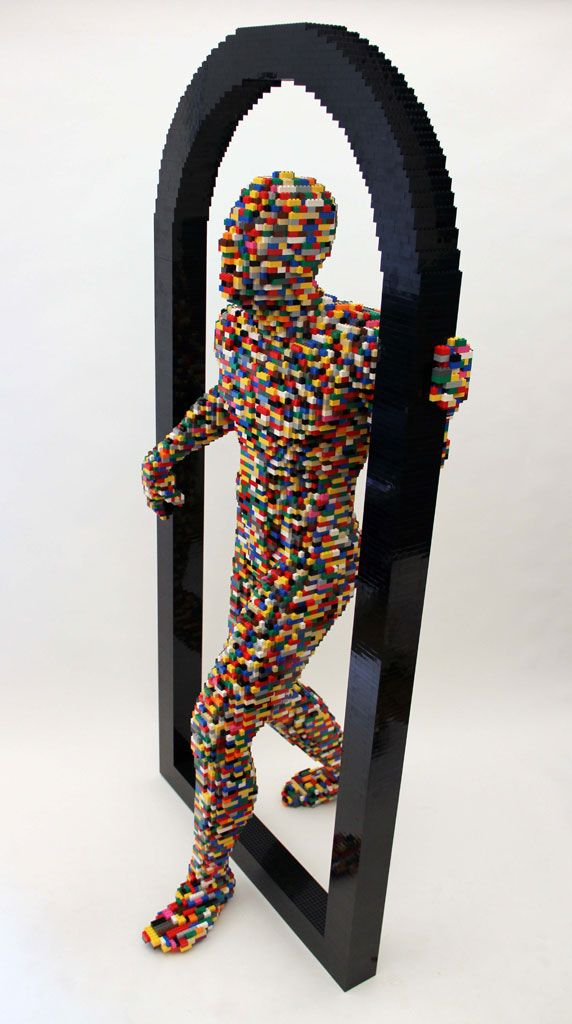 This Lawyer Turned Artist Quit His Job To Make Art Out of LEGOs