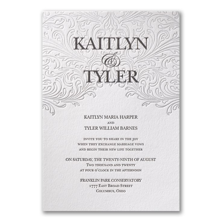 The 17 best images about Romantic Wedding Inspiration on Pinterest - best of invitation name designs