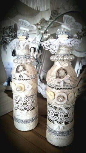 Wine bottle's designed . Mothers day gifts . Decorative wine bottles .