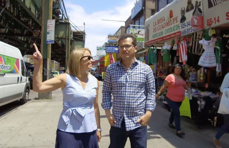 """Jackson Heights, Queens, where John Leguizamo grew up, has changed a lot since the actor left the neighborhood. """"When I was here, everyone was trying to get out,"""" Leguizamo told Yahoo Global News Anchor Katie Couric. """"Now, everyone is trying to get in."""""""