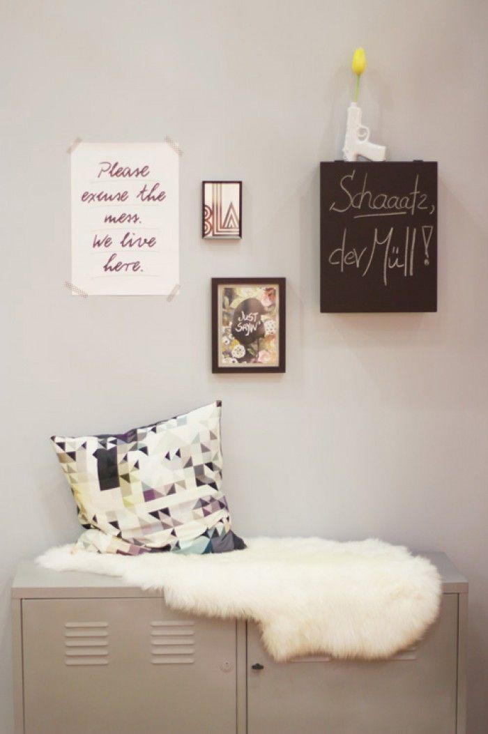 19 besten tolle ideen mit tafelfarbe bilder auf pinterest kreidetafel schiefertafeln und - Ideen mit tafelfarbe ...