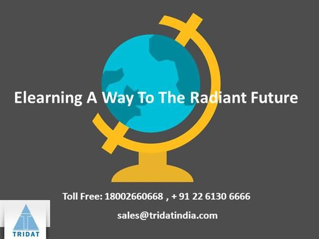Elearning a Way to the Radiant Future  >>> Tridat is one of those companies that specialize in various forms of #elearningcourses. E-learning has enabled learning to already reach new heights in the corporate management agenda and in institutions. In fact, #Elearningservices, today, is said to deliver faster results and a more consistent understanding of the study materials when added to the traditional classroom teaching.