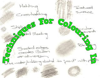 A Pretty Talent Blog: Coloring In Techniques