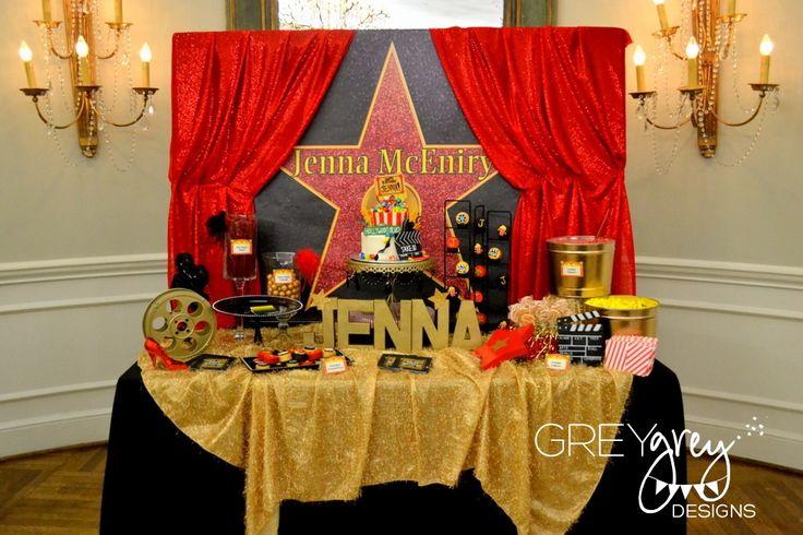 GreyGrey Designs: {My Parties} Jenna's Red Carpet Hollywood Birthday Party