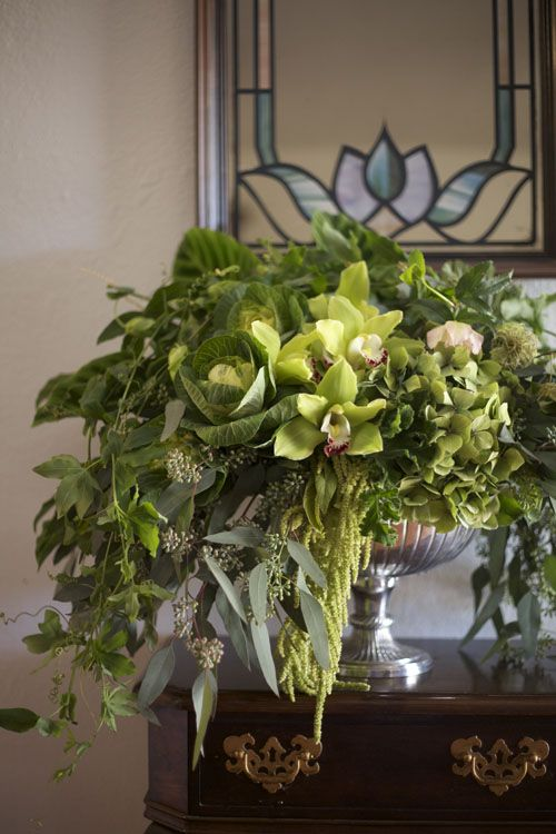 Tall Christmas Floral Arrangements