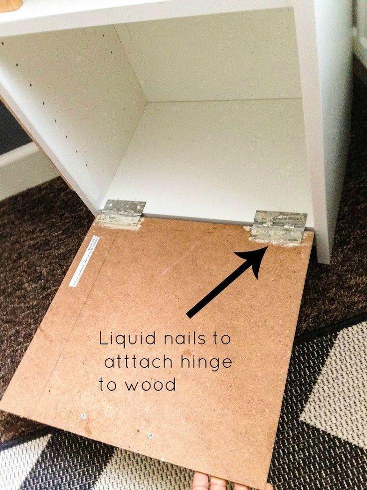 Ikea Hack: Industrial Kids Shelf
