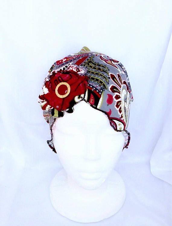 Chapeau chimio,bonnet mou cancer,couvre tête chimio,foulard cancer,turban chimio,bonnet été,perte de cheveux,béret chimio,couvre chef cancer by BleukaktusHats on Etsy