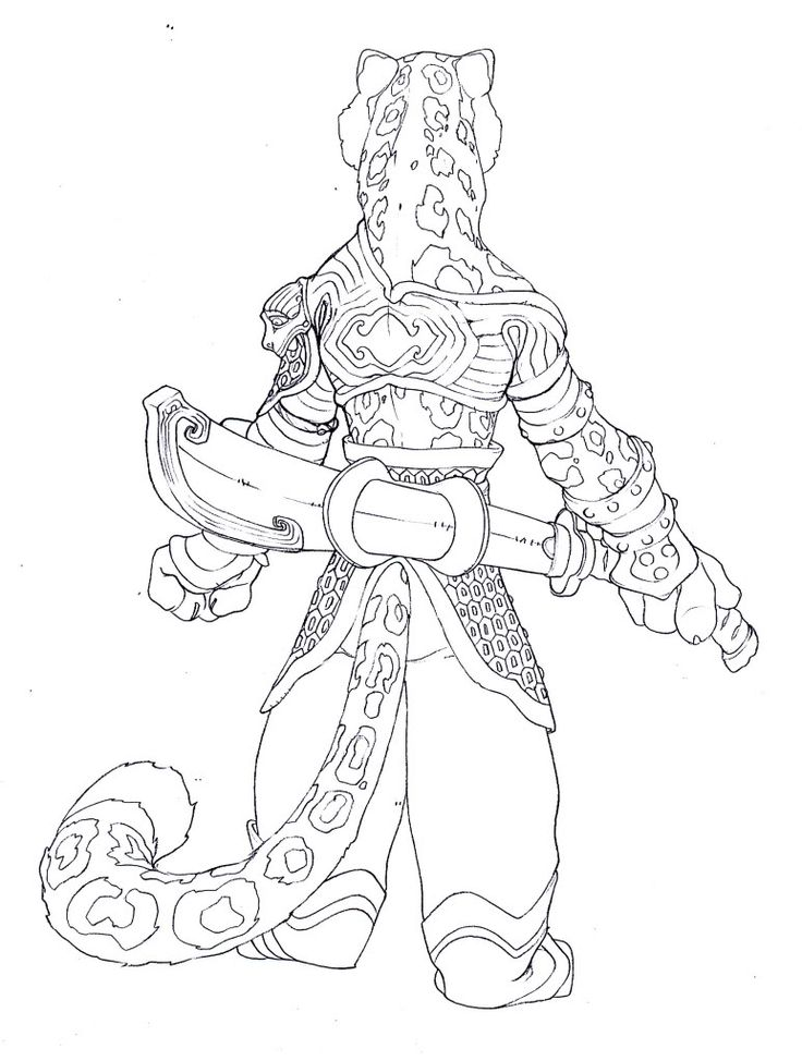 Kung Fu Panda Coloring Pages Tai Lung, Free coloring pages of kung ...