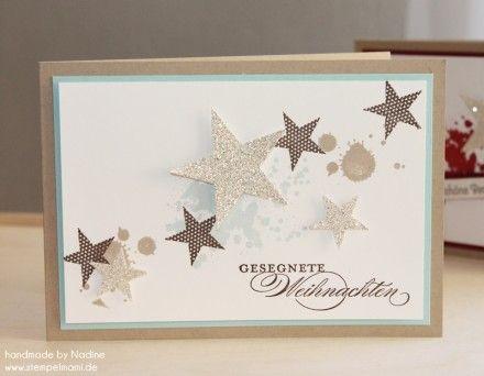 Weihnachtskarte Stampin Up Christmas Card Karte Card 181