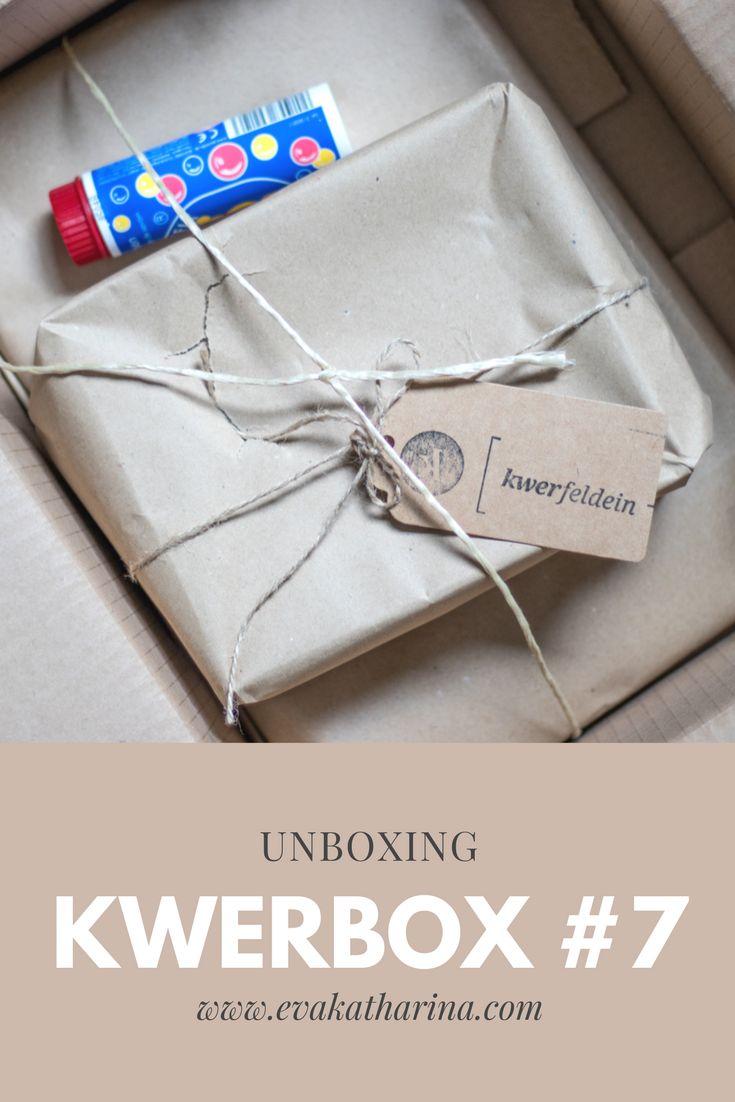 Die neue Kwerbox #7 von Kwerfeldein ist letzte Woche bei mir angekommen und natürlich möchte ich die Produkte wie immer mit euch teilen und sie euch ausführlich vorstellen.