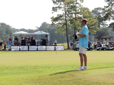 Rent the Party Pavilion for your next golf tournament and be the life of the event. Guaranteed show stopper!