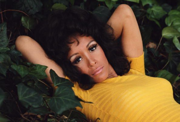 "When I first told my dad about Vintage Black Glamour, he had one question: ""Is Freda Payne in the book?"" Why yes, Dad. Yes she is. This photo by Terry O'Neill (via Getty) is from the early 1970s."
