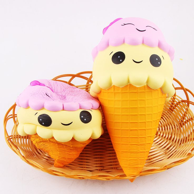 Squishy Ice Cream : 879 best Squishies/Squeeze Toys/Slime images on Pinterest Jumbo squishies, Kawaii and Kawaii cute