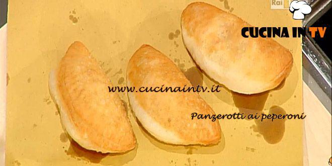 Panzerotti ai peperoni ricetta Moroni La Prova del Cuoco | Cucina in tv