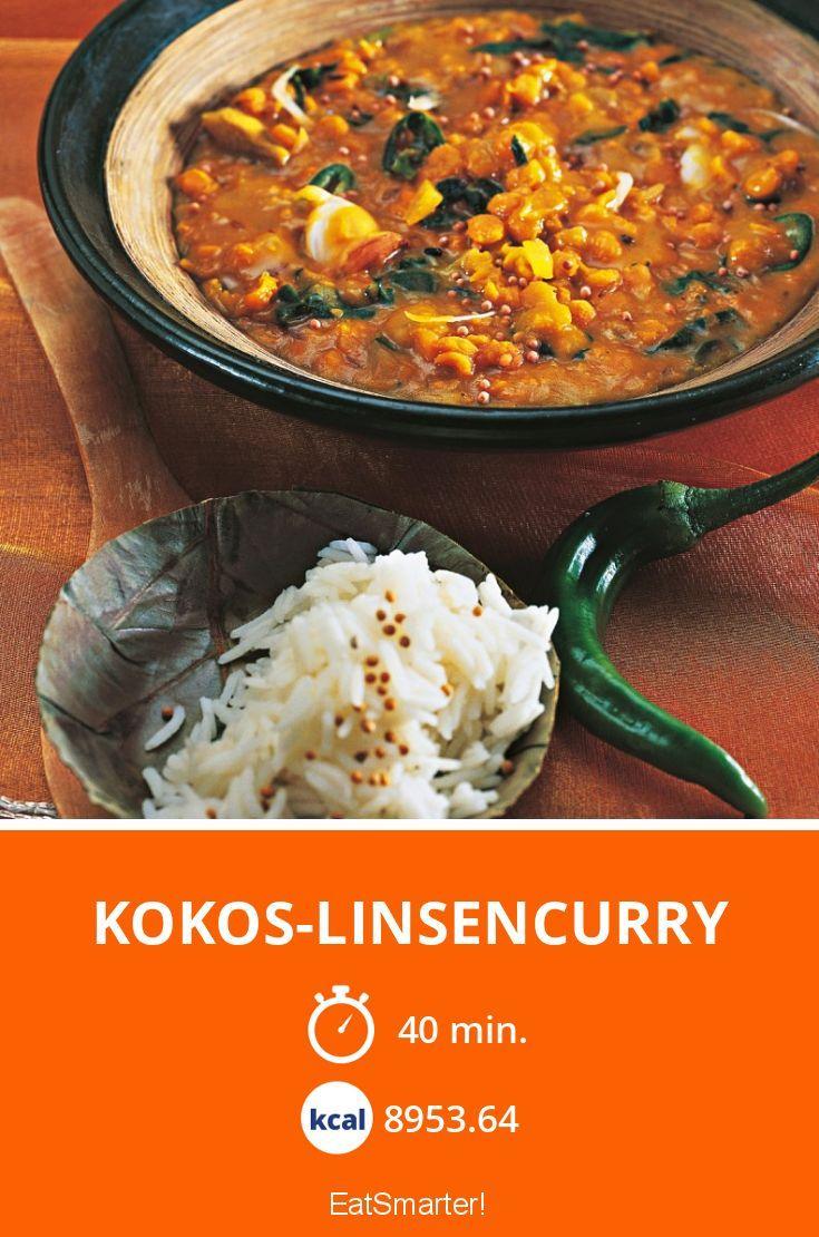 Kokos-Linsencurry - smarter - Kalorien: 8953.64 Kcal - Zeit: 40 Min. | eatsmarter.de
