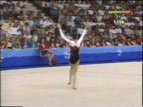 Carolina Pascual Rope 1992 Olympics
