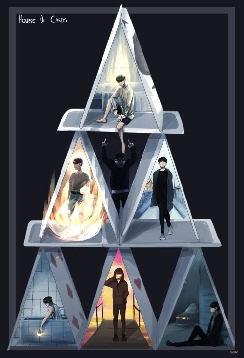 BTS House of Cards fanart