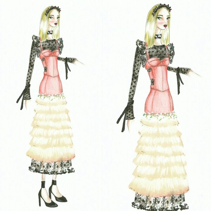 Wonderland (25) Fashion sketch
