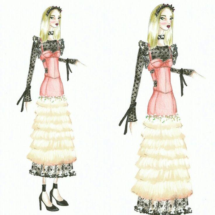 Wonderland (25) Fashion sketch