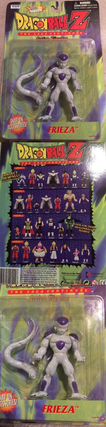 Toys And Games: Frieza Action Figure Dragonball Z New Sealed In Box Series 1 Rare BUY IT NOW ONLY: $30.0