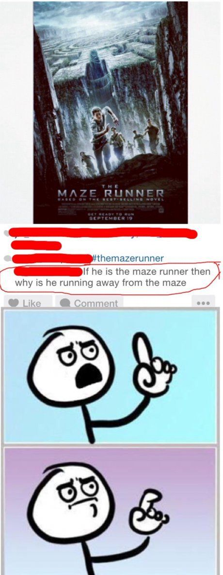 maze runner memes funny - Google Search