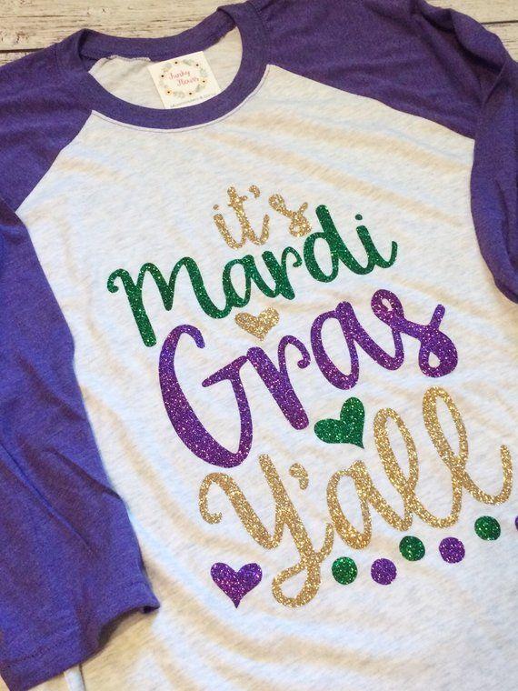 1bad78b23 Mardi Gras Raglan, Mardi Gras Shirt, Mardi Gras, NOLA Shirt, Mardi Gras  Vacation, Mardi Gras Parade, Parade Shirt, Mardi G