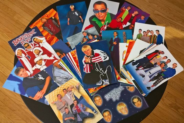 Backstreet Boys Pictures 1997 Glossy Prints Craft Pin Up Picture Fan Photos Fun