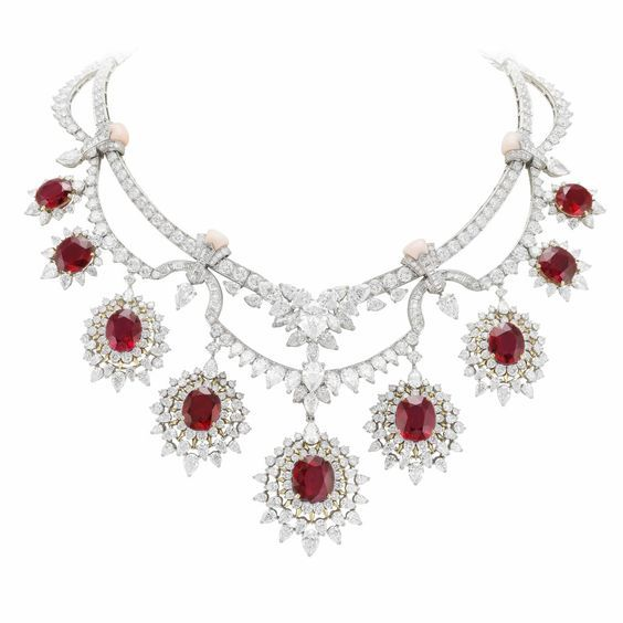 Treasure of Rubies Necklace by Van Cleef